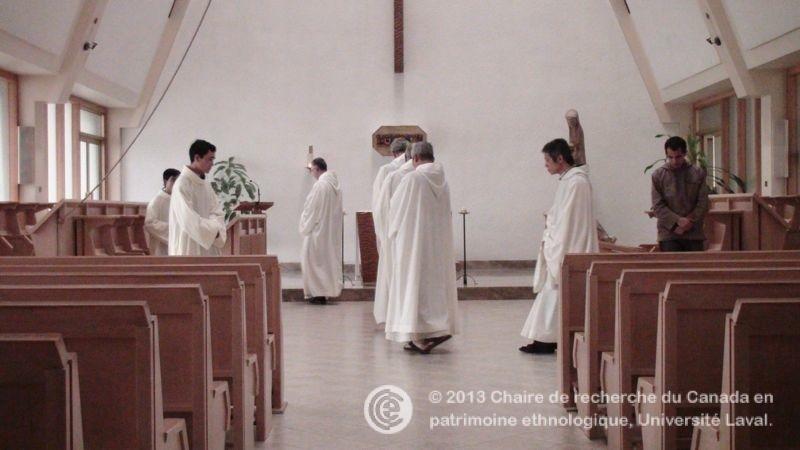 L 39 horaire quotidien au monast re cistercien de rougemont le patrimoine immat riel religieux du - Horaires des offices religieux ...