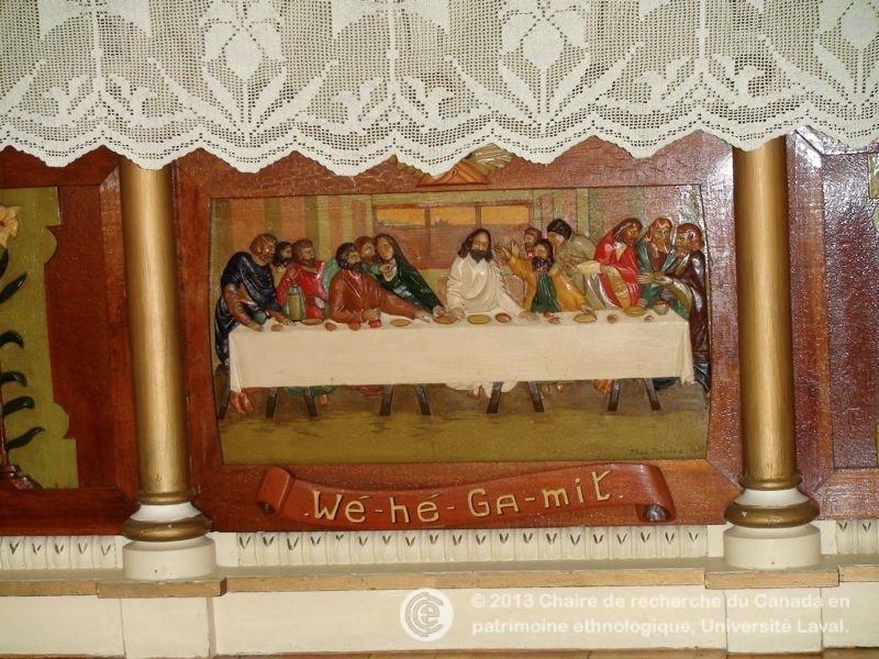 Le mobilier de l 39 glise saint fran ois de sales odanak for L inventaire du mobilier