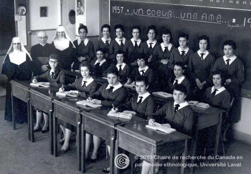 L 39 volution de l 39 enseignement chez les soeurs de notre - Les soeurs du marquis ...