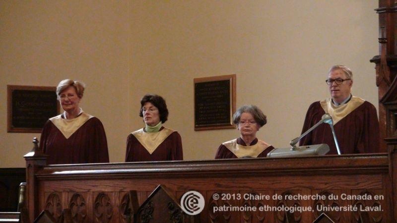Le chant choral l 39 glise chalmers wesley le patrimoine immat riel religieux du qu bec - Chorale coup de coeur laval ...